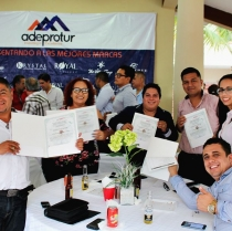 ADEPROTUR Trains Timeshare Promoters in the Field of Human Development.
