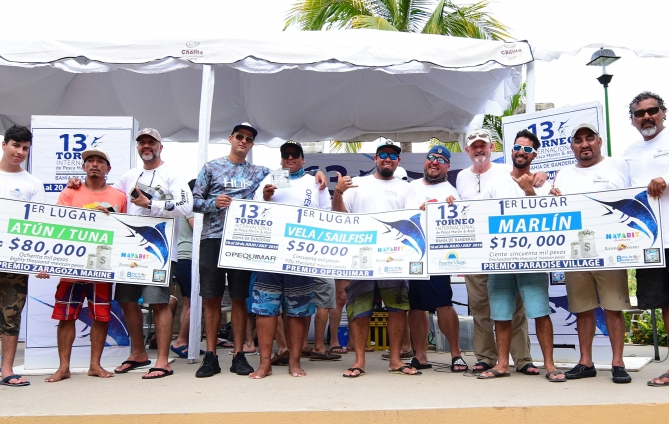 Big Win for Team Martuni during the 13th International Bahía de Banderas Fishing Tournament
