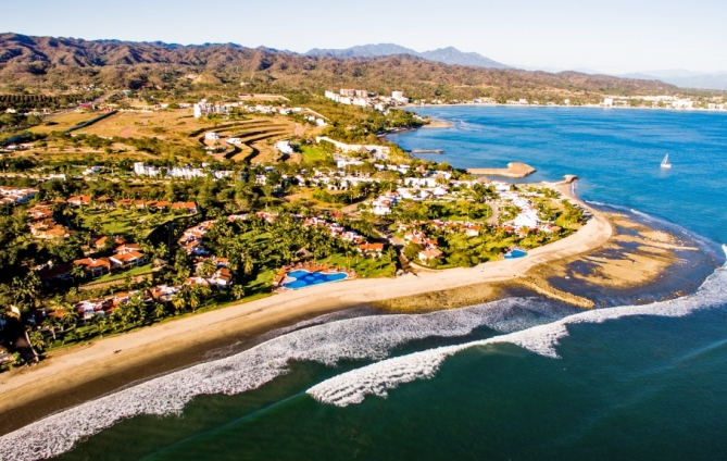 International arrivals to the Riviera Nayarit increased by 3.5%